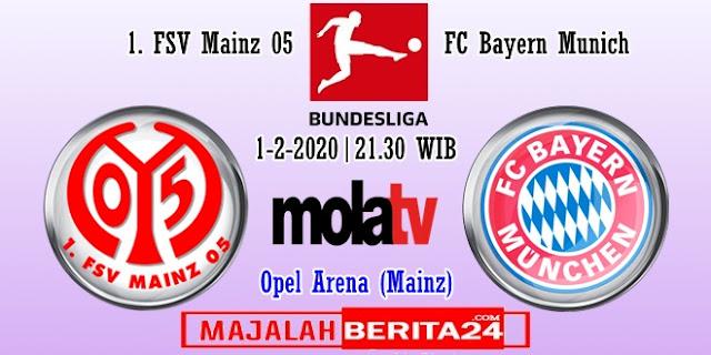 Prediksi Mainz 05 vs Bayern Munich — 1 Februari 2020