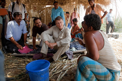 Bill gates helping images