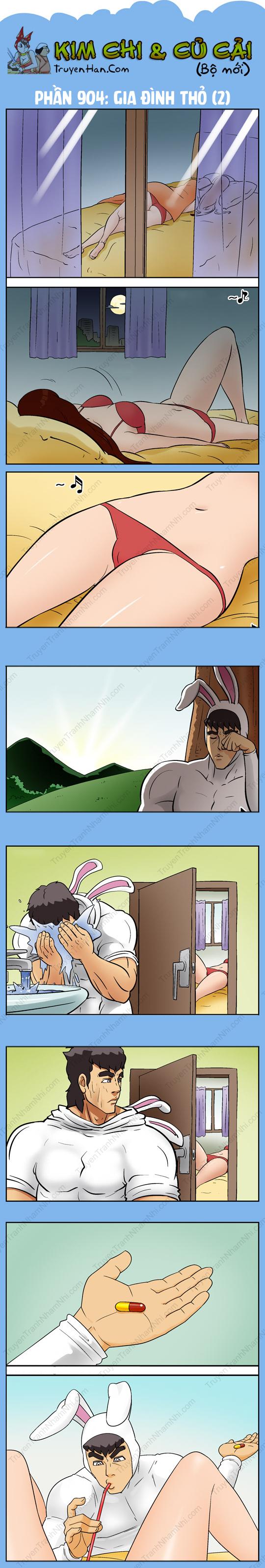 Kim Chi Và Củ Cải Phần 904: Gia đình thỏ (2)