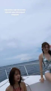 Member JKT48 Liburan Ke Bali, Fans Gembira Ada Gravure