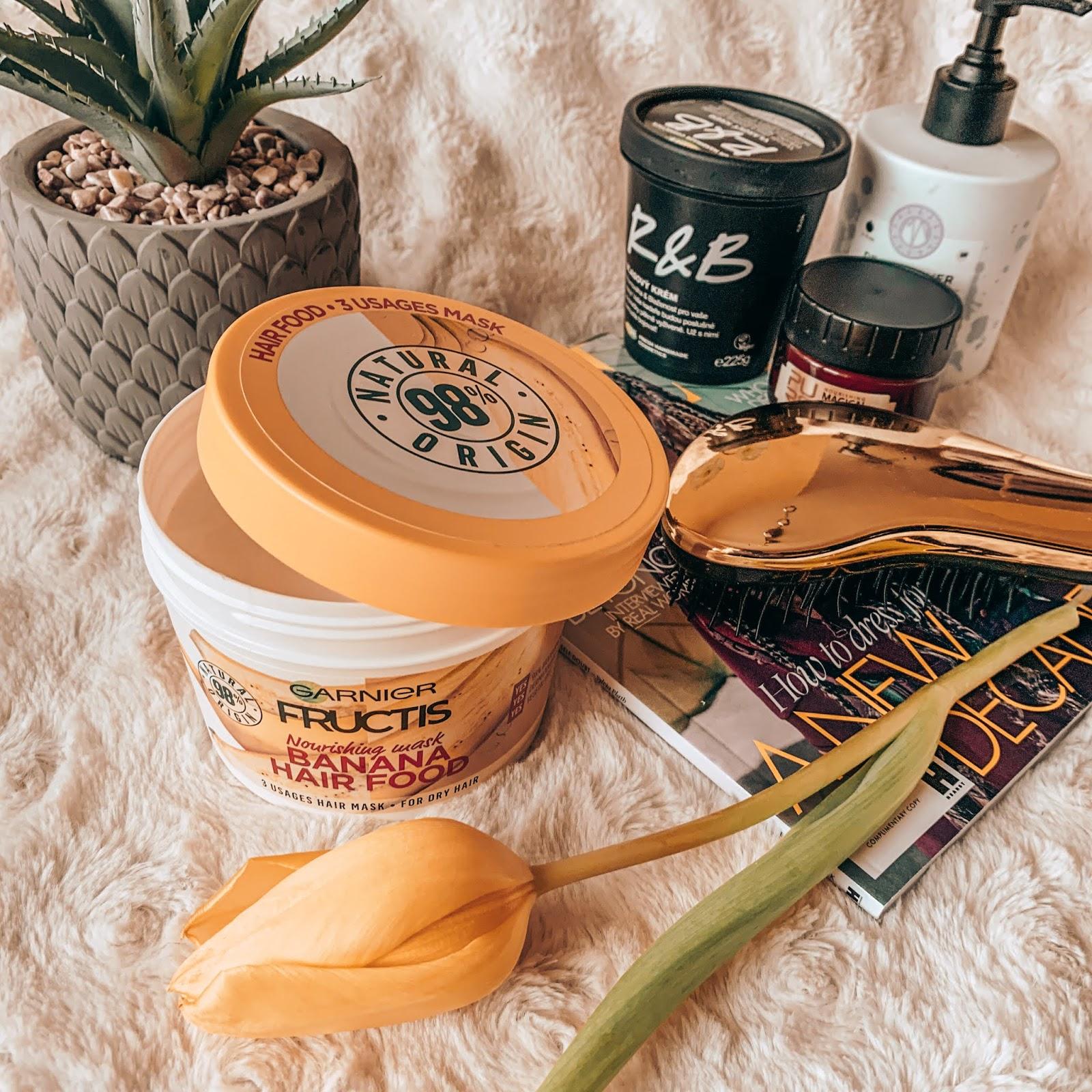 garnier fructis banana hair food maska na vlasy notino