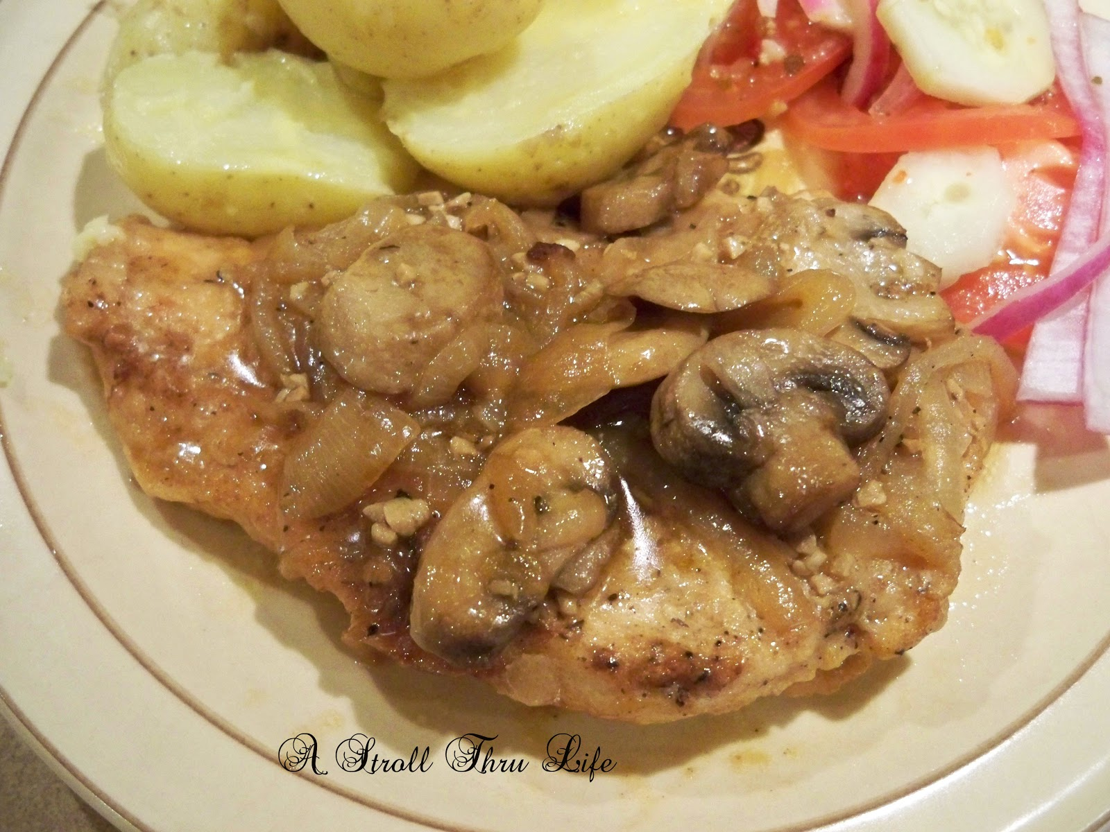 Garlic Mushroom Chicken  A Stroll Thru Life  From My Front Porch To Yours