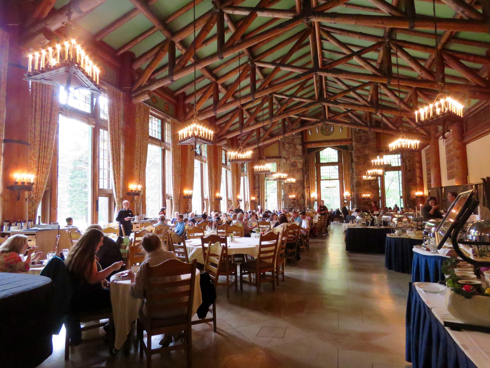 The Ahwahnee Hotel Dining Room   Historic Lodge Archives Le Continental