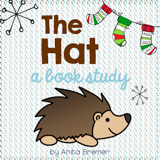 Book study companion activities to go with The Hat by Jan Brett- perfect for Kindergarten!