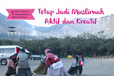 Tetap jadi muslimah aktif dan kreatif, jual rok celana murah, jual rok celana lapangan, jual rok celana muslimah, jual rok santika, jual rok celana muslimah murah, http://kataella.blogspot.com