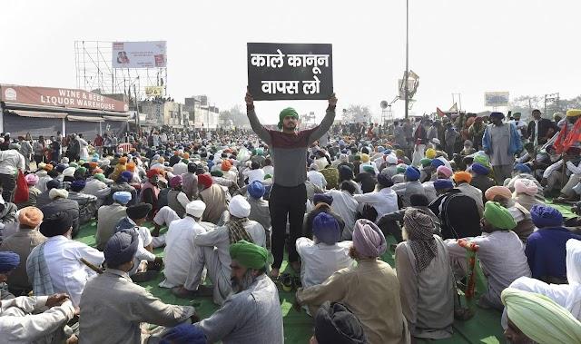 26 માર્ચે 'ભારત બંધ' ખેડૂત કાયદા વિરુદ્ધ ખેડૂતોના વિરોધને 4 મહિના પૂરા થાય છે