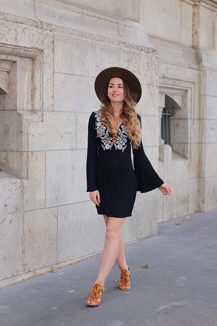 topshop dress blogger