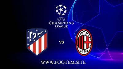 Milan vs Atletico Madrid