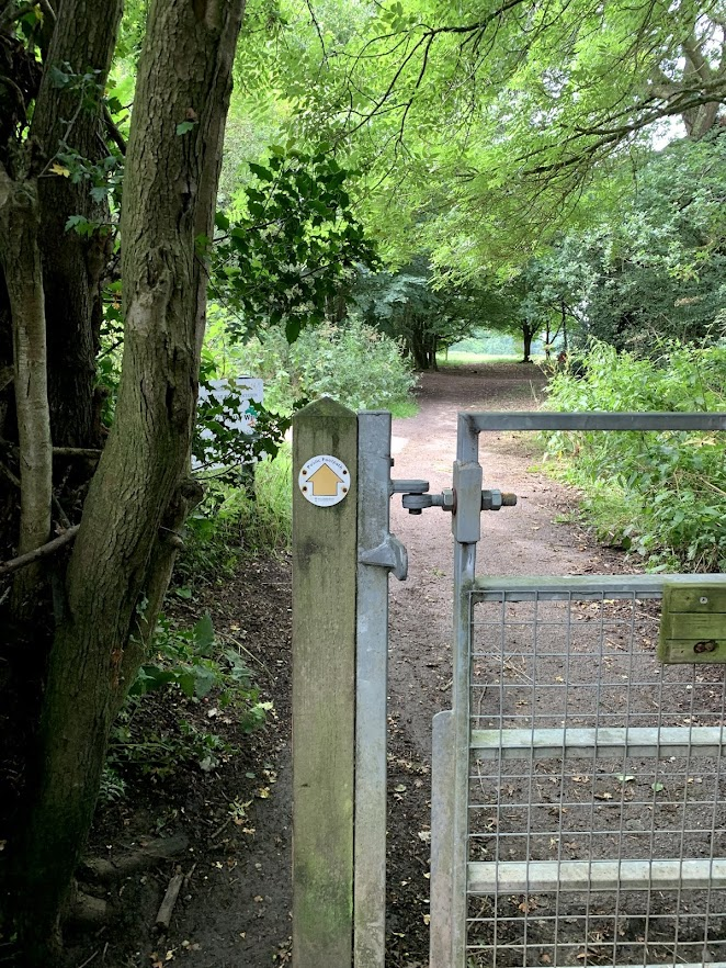 gate to woods