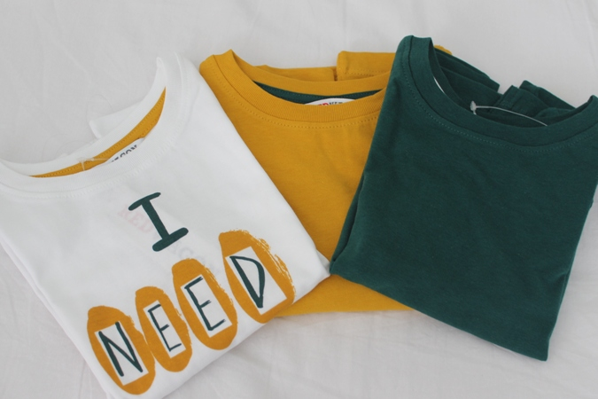 Pack camisetas niño