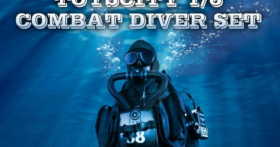 Onesixthscalepictures Toys City Combat Diver Set Latest