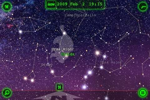 Star Walk App Screen Capture