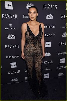 , Kim Kardashian & Kanye West Couple Up at Harper's Bazaar Icons Party, Latest Nigeria News, Daily Devotionals & Celebrity Gossips - Chidispalace