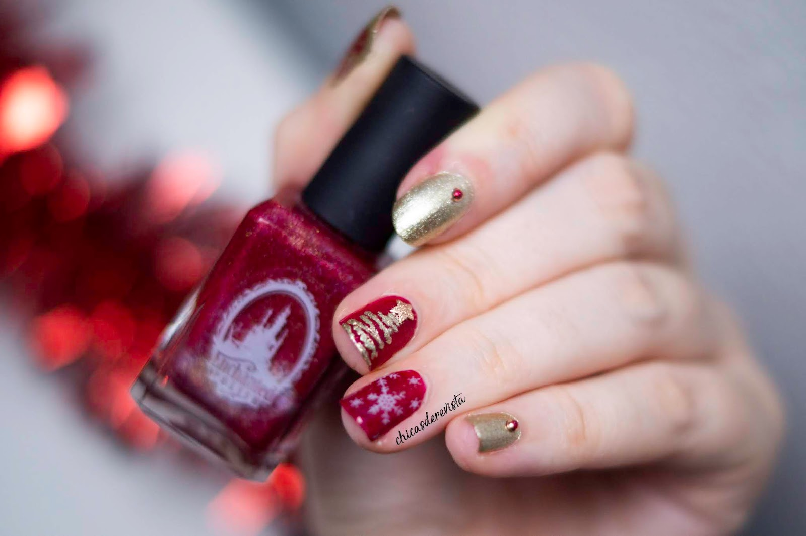 nail art Noël