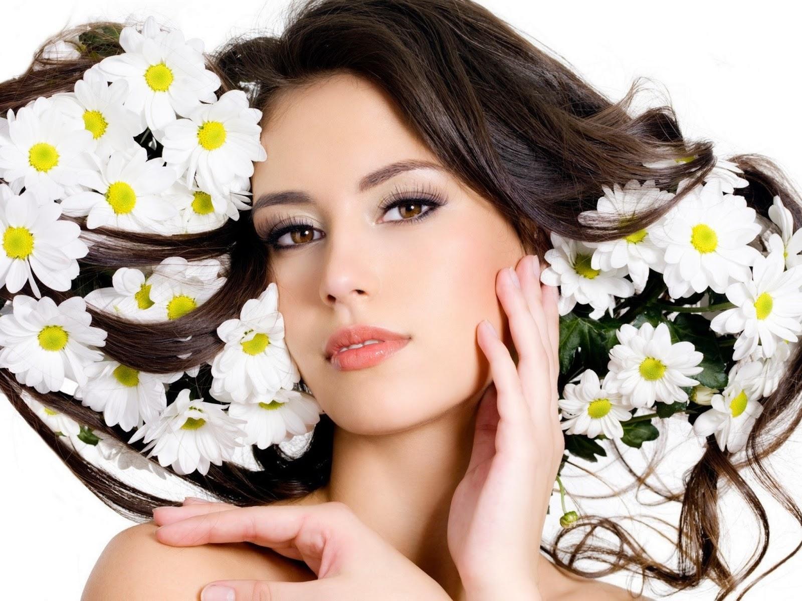 Girls Like Flower | Creative Hd Wallpapers