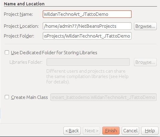 Membuat project baru pada Netbeans IDE
