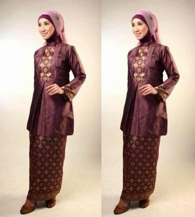 Model Baju Batik Kerja Untuk Tubuh Gemuk: Model Baju Batik Untuk Lebaran