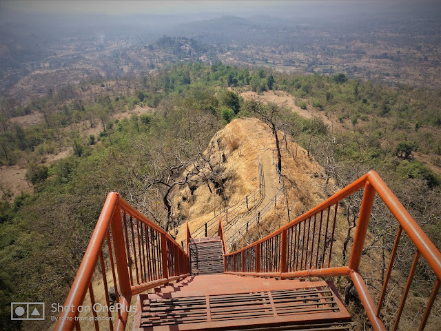 Sudhagad fort trek, Sudhagad ladder