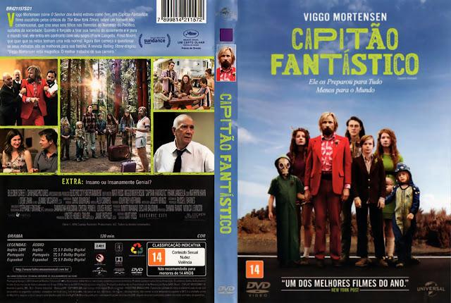 Capa DVD Capitão Fantástico [Oficial]