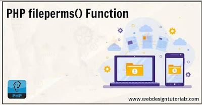 PHP fileperms() Function