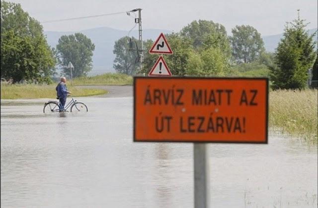Újabb utat zártak le az árvíz miatt Borsodban