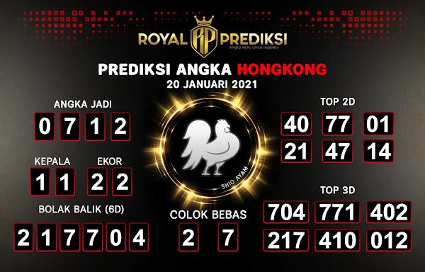Prediksi Hongkong 20 Januari 2021 Hari Rabu