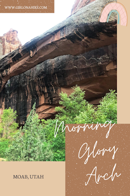 Hiking Grandstaff Canyon to Morning Glory Arch