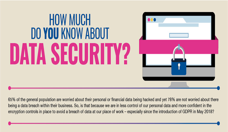 How Much Do You Know About Data Security? #infographic