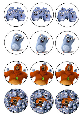 free grizzly and the lemmings printables