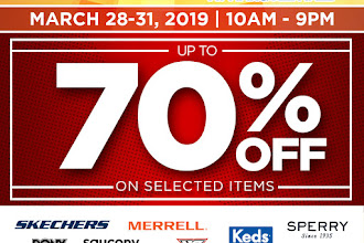Up to 70% Discount on Sneakers and more at Markdown Madness in Pampanga