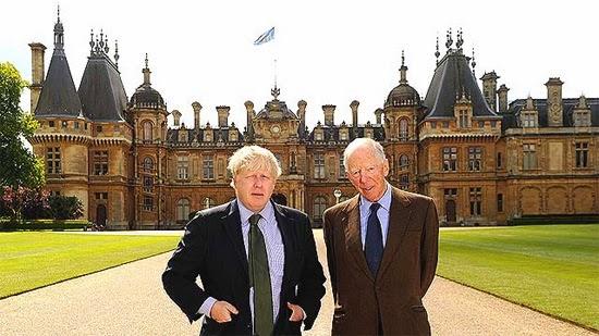 Wadesdon Manor - Constru[ida por Ferdinand de Rothschild