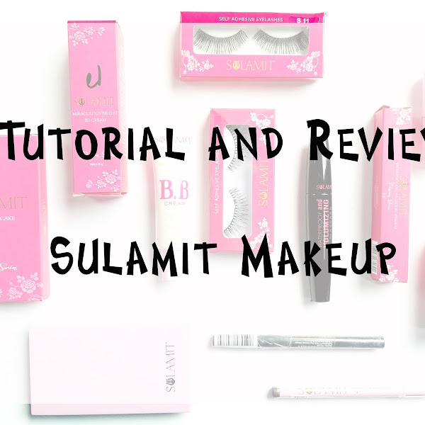 Tutorial and Review Sulamit Cosmetics