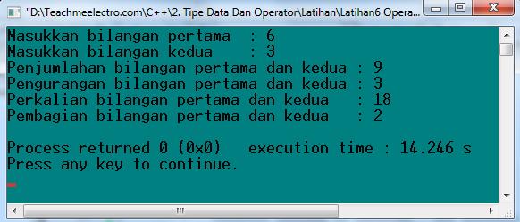 Operator Binary