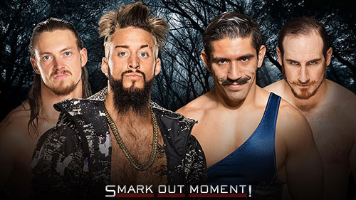 WWE Payback 2016 Enzo Amore Big Cass vs Vaudevillains