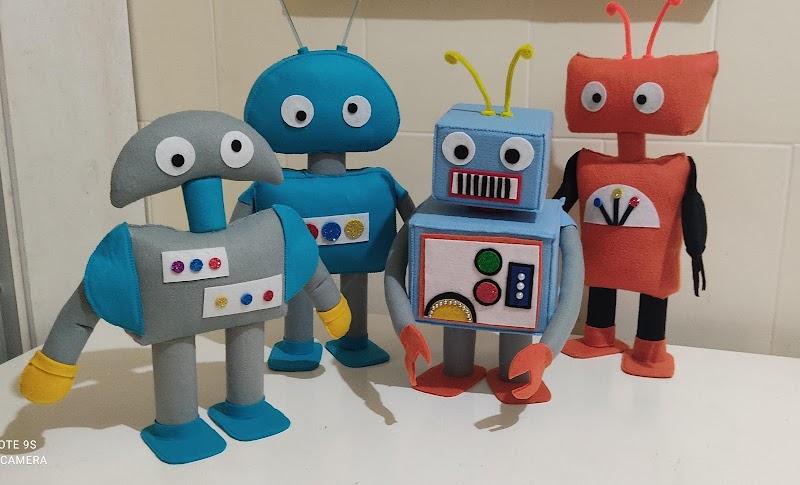 Kit Robos  para Decoração