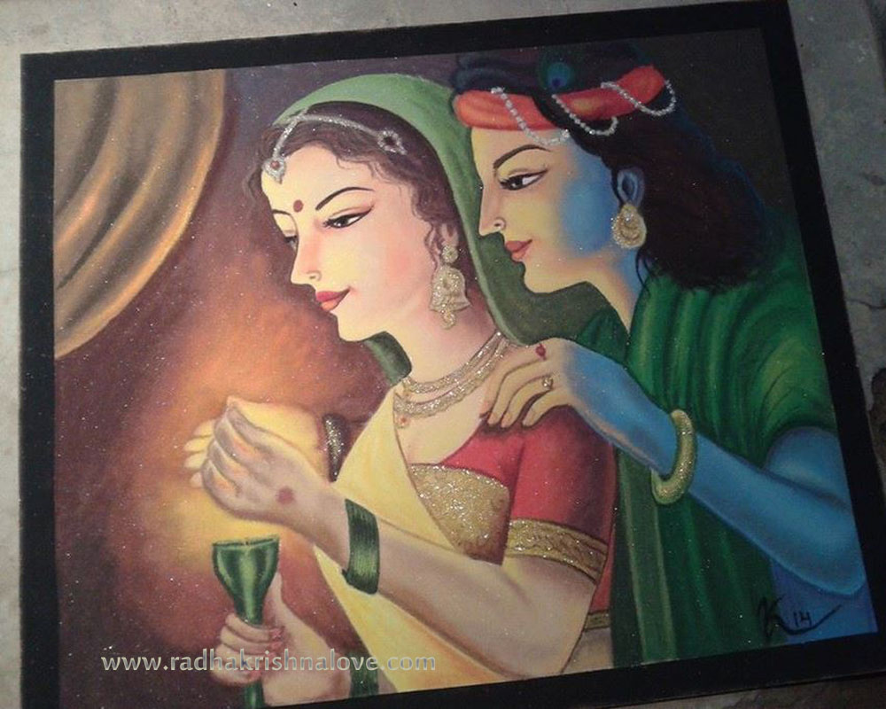 krishna and diwali