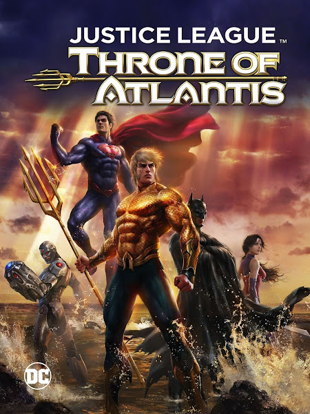 Justice League: Throne of Atlantis (2015) Full Movie [English-DD5.1] 200MB BluRay 480p ESubs