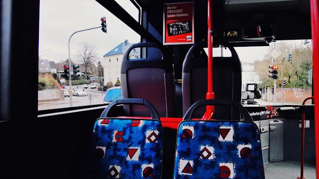 WSW Bus von Innen