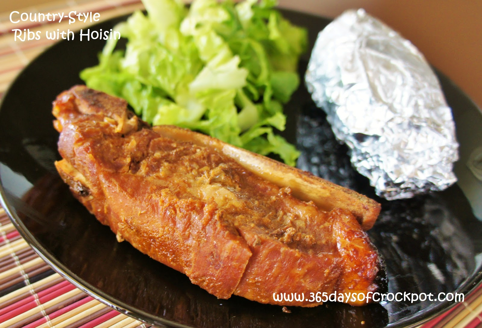 Crockpot asian boneless country style ribs