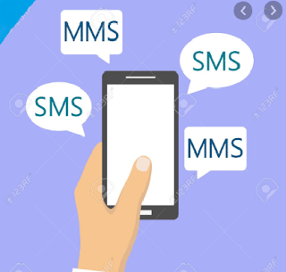 mms and sms image