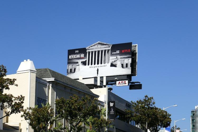 Reversing Roe Netflix billboard