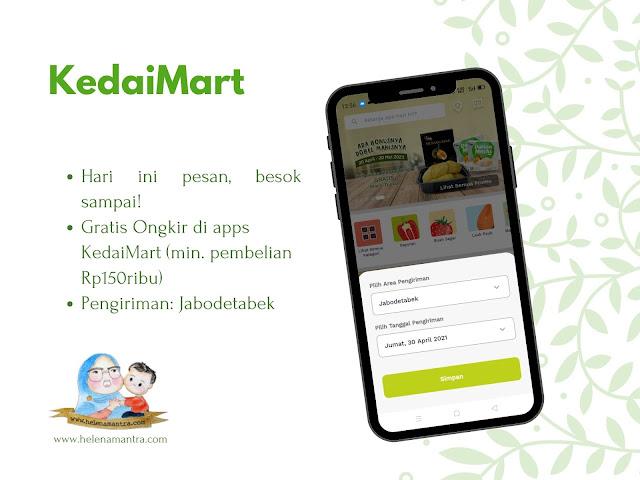 belanja kedaimart online