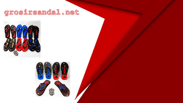 sandal dewasa pria | sandal spon | sandal motif