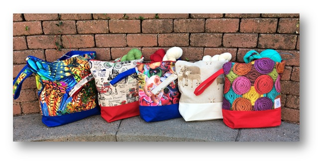 Project Bags By Dutch Knitty Tasjes Voor Brei Of Haak Werk