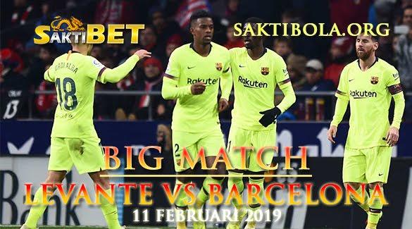 Prediksi Sakti Taruhan bola Levante vs Barcelona 11 Januari 2019