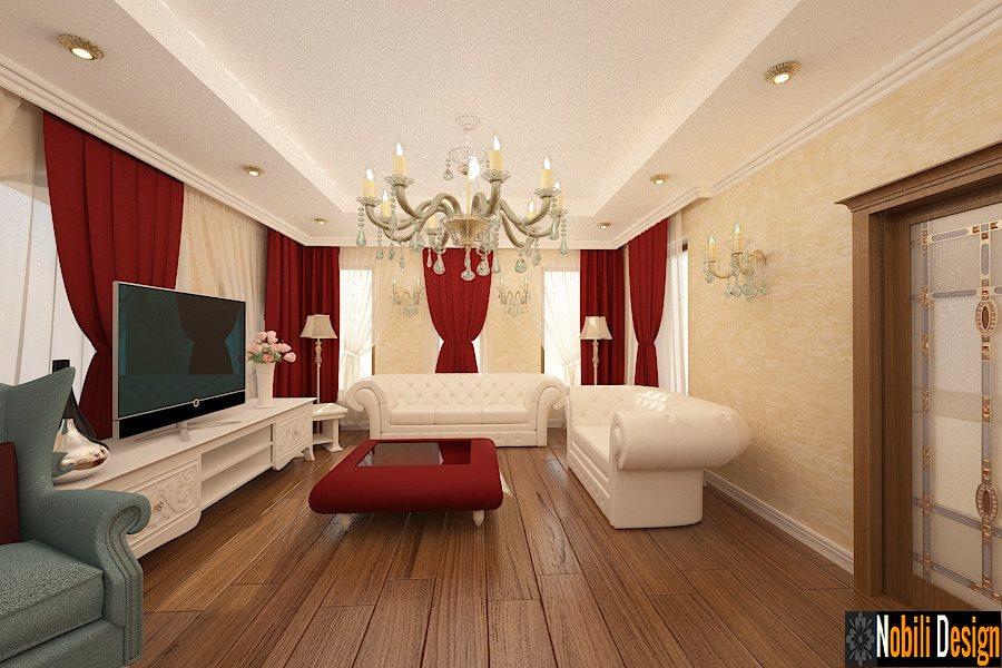 Design interior living stil clasic Bucuresti - Design interior casa clasica in Bucuresti