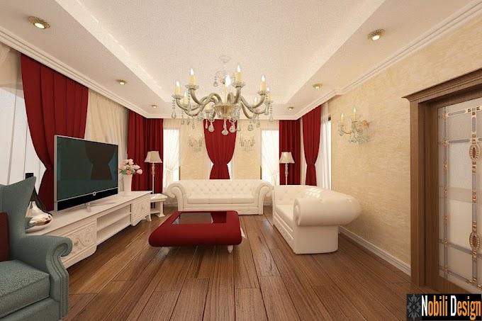 Design interior living clasic Bucuresti - Design interior casa clasica