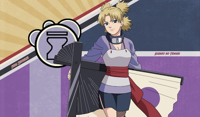 Temari (Naruto) - Top Strongest Anime Character Who Wield Power of Wind/Air