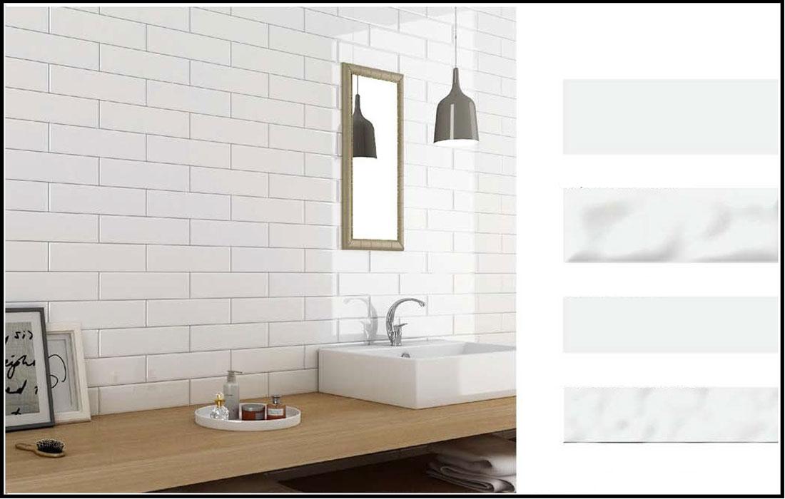 Plain-white-bathroom-tiles