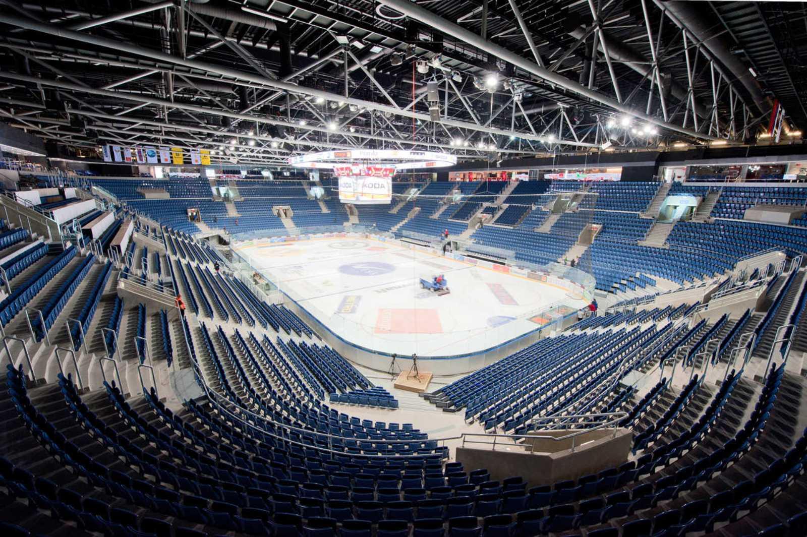 Ondrej Nepela Ice Hockey Stadium By Fischer Architects A